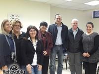 ראש עיריית גבעתיים הגיע ללמוד כיצד פועל מרכז הגישור