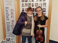 סופי אברקייב מרחובות השתתפה בקורס יוקרתי לנגנים מחוננים