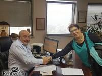 ראש העיר נפגש עם נשיאת ארגון 'הדסה' בישראל הנבחרת