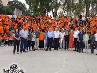 """מאות בני נוער השתתפו ביום שיא שישי עירוני """"אמץ אתר"""""""