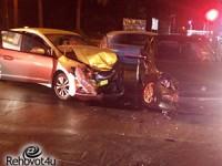 3 נפגעים בתאונת דרכים
