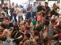 עשרות ילדים השתתפו באירוע מיוחד במינו בקניון 'עופר'