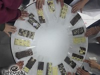 קבוצת הבנות שפועלת במסגרת בית הספר למנהיגות נוער פותחת את פעילותה