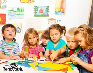 """כ- 11,000 ילדים צפויים להירשם לגני ילדים לשנה""""ל תשע""""ט"""