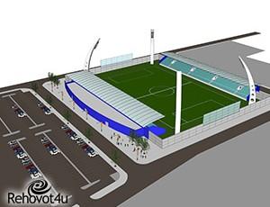 אושרה תוכנית להקמת אצטדיון ברחובות