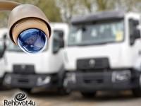 מכת הפריצות למשאיות: התקנת מצלמות במגרשי החניה