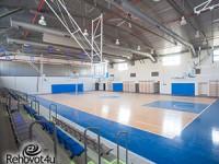 """אולם ספורט חדש הושלםבהשקעה של כ- 10 מיליון ש""""ח"""