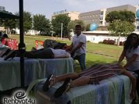 יום בריאות לעובדי בית החולים קפלן