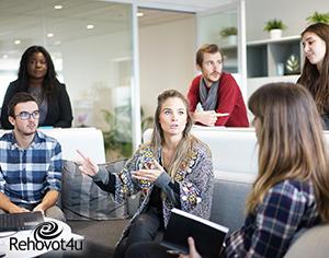 איך לעצב משרד שיגביר משמעותית את המוטיבציה של העובדים שלכם?