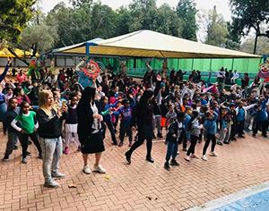 """יום ספורטאים בביה""""ס יבניאלי: התלמידה שהתחפשה למנהלת"""