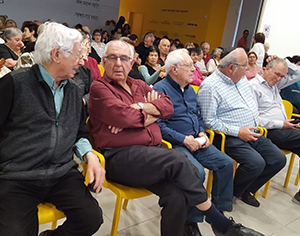 """4 ראשי עיריית רחובות באירוע הרמת הכוסית של על""""ה ויו""""ר אחד"""