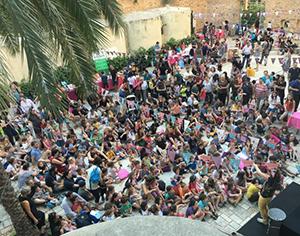 """מאות אנשים השתתפו בפסטיבל """"פסטיבוק"""""""