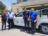 לראשונה ברחובות: רכבי שטיפה בקיטור הצטרפו לצי רכבי הניקיון העירוני