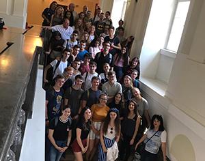 משלחת הנוער להיידלברג שבה לישראל
