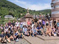 מדע וכיף: משלחת נוער נוספת שוהה כעת בהיידלברג