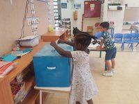 """בחירות בגן הילדים: ילדי גן פשוש בחרו ב""""תפוזי"""""""