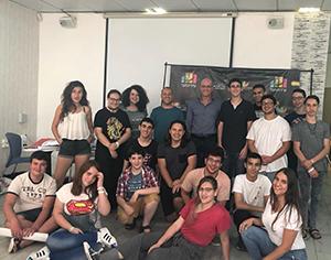 גאווה רחובותית: מועצת הנוער העירונית זכתה באות המועצה היוזמת