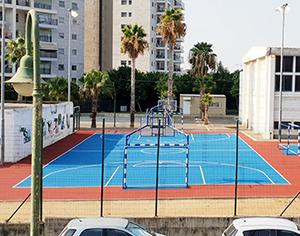 מחדשים את מגרשי הספורט בשכונות ובבתי הספר