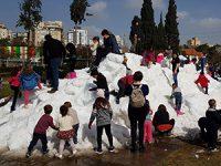 מביאים את השלג לרחובות