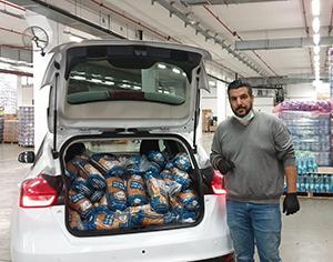 800 מנות לתושבים ותיקים, וכ- 200 חבילות מזון