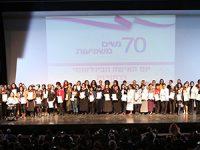 רחובות בין הערים המובילות בישראל בייצוג נשים בתפקידים בכירים