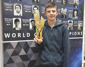 נבחרת השחמט זכתה במקום השני באליפות הארץ למועדונים!