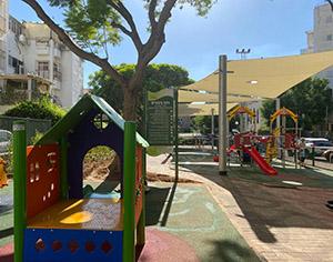 תתחדשו: גינת משחקים ציבורית חדשה ברחוב מרים מזרחי