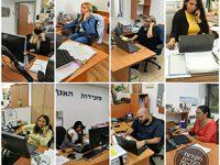 עובדי עיריית רחובות מצטרפים למערך החקירות האפידמיולוגיות
