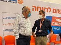 ראש העיר ביקר במתחם חיסוני הקורונה