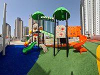 חדש בשכונת אבן גבירול: מתחם משחקים בפארק המרכזי