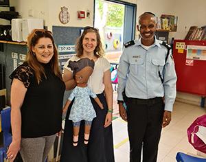 בגני הילדים בעיר מציינים את סיפור עליית יהודי אתיופיה לישראל