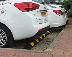 מעצור חניה לרכב – התנגשויות Out, סדר ובטיחות In